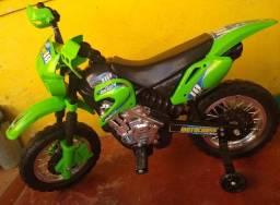 Moto Elétrica Infantil 6v - Motocross - XPlast