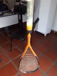 Racket de squash usada