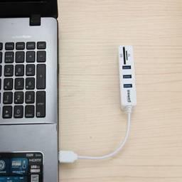 Título do anúncio: Extensão Hub Usb para notebook PC Com Leitor De Cartão de Memória