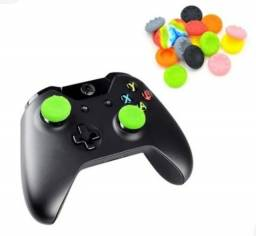 Grips de Silicone P/analógico PS4, PS3, Xbox360, XboxOne