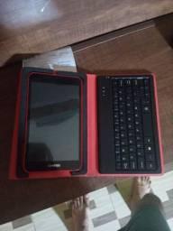 Tablet com teclado usado