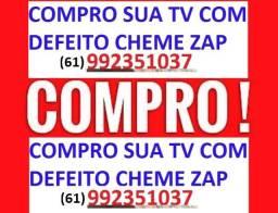 Compr@mos sua tv - com defeit0 ! (Busco)