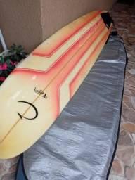prancha de surf long board completa com capa