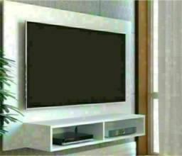 Painel para TV sala ou quarto  branco