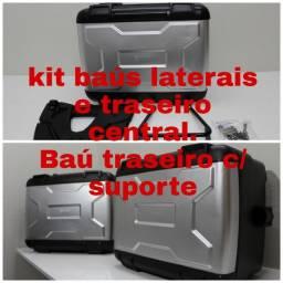 Kit Baus Originais Bmw 1200- Laterais E Central- Impecáveis