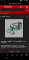 Aparelho inalador pulmopar plus+ novo
