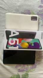 Sansung galax A51 128GB em estado de novo em iPhone ou galax S8 passo cartão