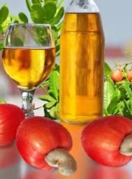Cajuína refrigerante natural sem adição de açúcar nem conservantes