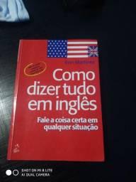 Livro como dizer tudo em inglês de Ron Martinez