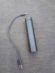 Bateria extra e caixa de som