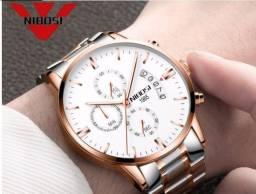 Relógio Nibosi Ouro branco