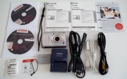 Câmera Digital Canon IXUS 860 IS (Importada) + 10 Itens
