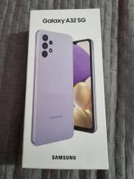 Samsung A32 na caixa, lacrado