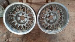 Rodas esportivas alumínio 15x8 e 13x6