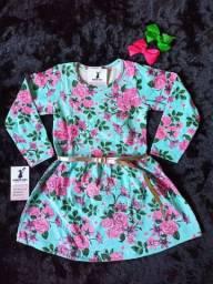 Vestido + cinto Tam 4