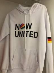 Moletons Now United - novos