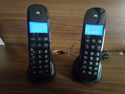 Telefone fixo motorola + 1 ramal