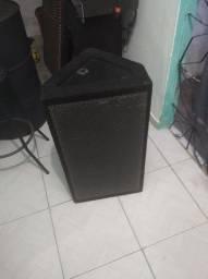 Caixa de som monitor de voz