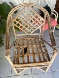 Cadeira de Bambo 4Unidades