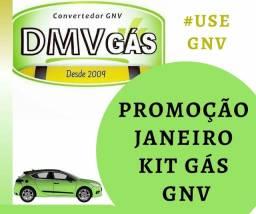 Kit Gás 3° e 5° geração