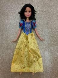 Boneca Barbie Princesa Disney Branca de Neve