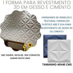 Forma Para Gesso 3D Abs 1mm Modelo Flor
