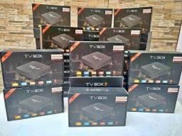 Tv Box 4k 64gb 4gb De Ram Android 10.1 Ótima Qualidade Com Suporte a 5G