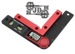 Transferidor de ângulo digital finder inclinômetro nível eletrônico 360 graus