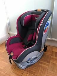 Caideirinha Carro para Criança Chicco Nextfit em bom estado com mala de transporte