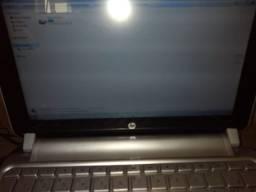 Netbook Hp usado com um Ram de mémoria