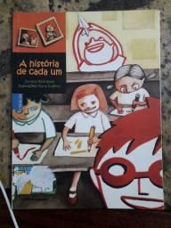 Livro paradidático A história de cada um.