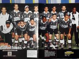 Pôster Placar Corinthians Campeão Paulista 1977