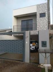 Sobrado com 3 dormitórios à venda, 125 m² por R$ 515.000,00 - Jardim Ouro Verde II - Saran