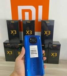 Poco X3 NFC 64Gb/6Gb e 128Gb/6Gb - Lacrados novos