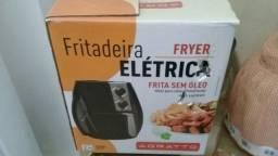 Título do anúncio: Fritadeira Sem Óleo Agratto Preto 1200w Pro Saúde 2,5l<br><br>