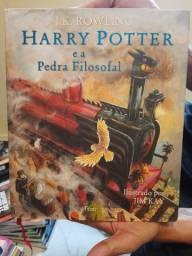 Livro Ilustrado - Harry Potter e a Pedra Filosofal (Capa dura)