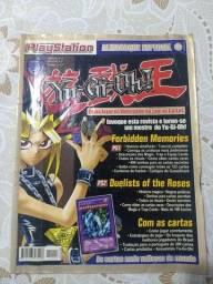 Revista Playstation Almanaque Yu Gi Oh!