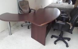 Conjunto mesa de escritório