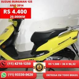 Suzuki Burgman 125 Ano 2014