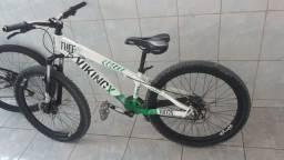 Bicicleta 26 Vikingx Tuff30 21v Cambios Shimano Freio Disco