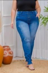 Calça jeans Plus size com lycra. Tam 46 ao 52. R$ 110,00 cada.