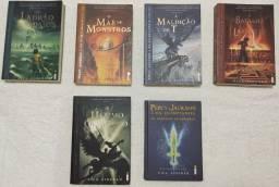 Coleção Percy Jackson e os Olimpianos - Não envio