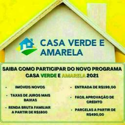 W ->Cadastro CASA VERDE & AMARELA  #Financiamento *Facilitado