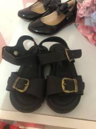 Sandália escolar TAM 22