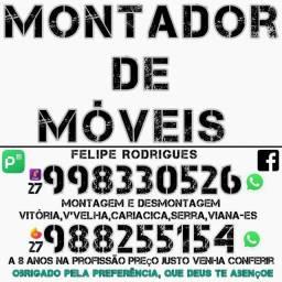 MONTADOR DE MÓVEIS NA GRANDE VITÓRIA-ES *