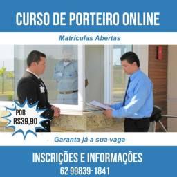 Curso online de Porteiro por R$39,90 - Vagas Limitadas