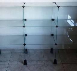 Vidros para vitrines e lojas