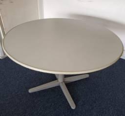 Mesa de reunião redonda 1,10 diâmetro