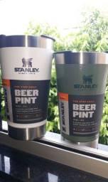 Copo térmico stanley original  com tampa cerveja gelada shop 473 ml