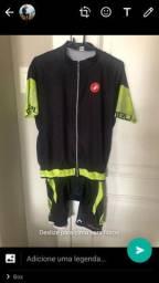 Conjunto pedalar mais 3 camisas